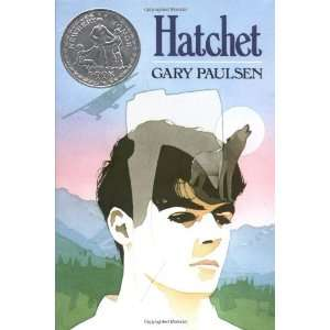 By Gary Paulsen: Hatchet:  Atheneum/Richard Jackson Books
