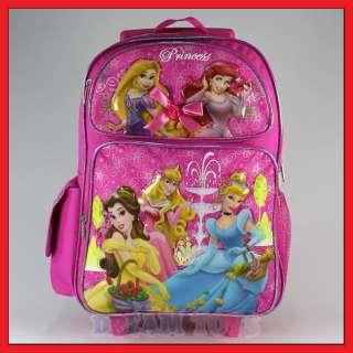 16 Disney Princess Tangled Rolling Backpack Roller Bag