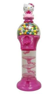 Pink Hello Kitty KT3110 Desktop Gumball Machine Preloaded
