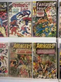 Age Comic Collection Lot Amazing Spider Man X Men Avengers