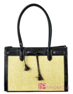 New Designer Inspired Large Straw Handbag Purse Tote