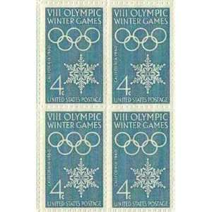 VIII Olympic Winter Games Set of 4 x 4 Cent US Postage