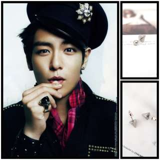 BIGBANG big bang TOP style Rocket earrings piercing