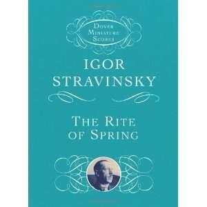 (Dover Miniature Music Scores) [Paperback]: Igor Stravinsky: Books