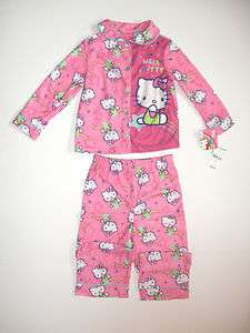 Tag Toddler Girls HELLO KITTY Pajamas 2T 3T 4T 886166079575
