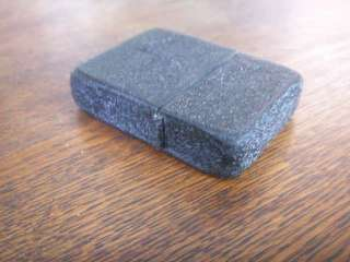 Zippo WW2 Black Crackle 3 Barrel lighter w/box unused