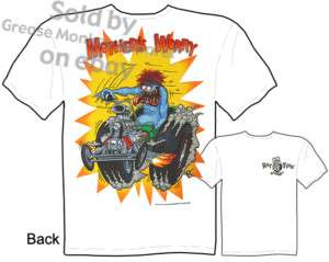 Mothers Worry Rat Fink T shirt Big Daddy T New Sz M 3X