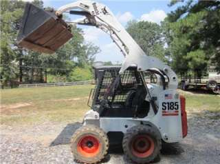 BOBCAT S185, 556 HRS, PILOT CONTROLS, ELECTRONIC SECURITY SYSTEM