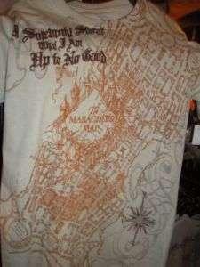 Wizarding World of Harry Potter Marauders Map T Shirt