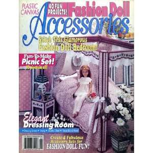 Fashion Doll Accessories [Plastic Canvas]: House of White