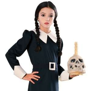 Addams Family Wednesday Child Wig: Toys & Games