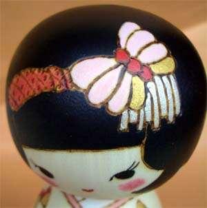 Japanese Creative Kokeshi Doll  IZUMI Butterfly san