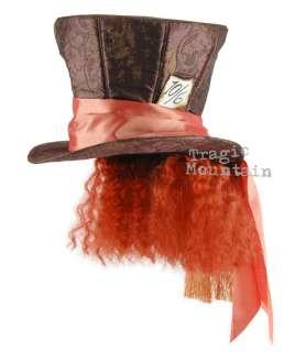 MaD HaTTeR Alice In Wonderland Costume Hair Wig Top HAT