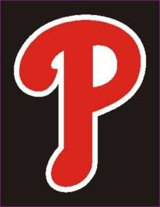 Philadelphia Phillies Cell, Ipod P Logo Sticker 1 #3aa