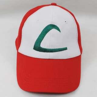 New Visor Cap POKEMON ASH KETCHUM COSTUME Cosplay Hat