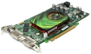 Dell HH748 NVidia GeForce 7900 GS 256MB PCI E Dual DVI + S Video Video