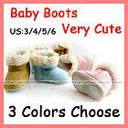 Unisex Infant Toddler Baby Shoes Fur Wint