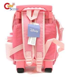 Winnie the Pooh w/Eeyore 12 Roller Backpack/Bag PINK