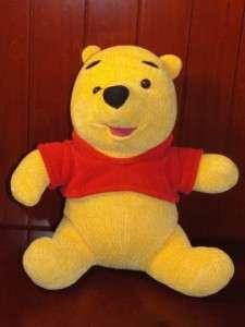 Winnie The Pooh Talking Plush Stuffed Animal Toy Disney Teddy Bear