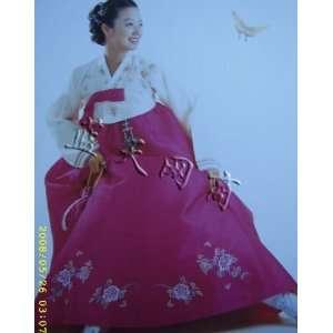 korean traditional dress hanbok: Arts, Crafts & Sewing