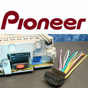 PIONEER PLUG HARNESS DEH PS600MP DEH P2500 DEH 16 DEH 5
