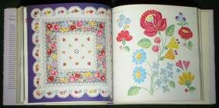 BOOK Hungarian Folk Embroidery Kalocsa pattern lace ethnic costume
