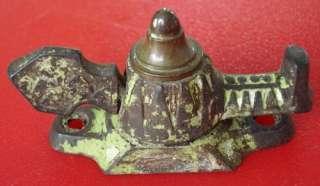 Antique Victorian Window Sash Lock cast iron/bronze V14