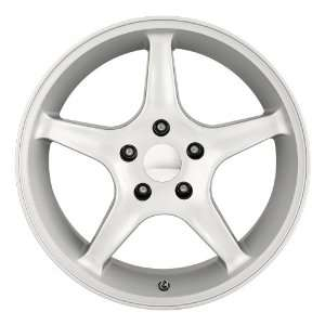 16 Inch 16x8 Detroit wheels STYLE 830 Silver wheels rims Automotive