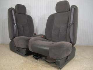 SILVERADO GMC SIERRA AVALANCHE SUBURBAN TAHOE FRONT CLOTH BUCKET SEAT