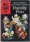 Dell Giant #38 VG 4.0 Walt Disney Donald Duck Family Fun 1960