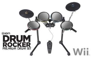 NeW ION Drum Rocker Premium Drumset ROCK BAND 2 for Wii