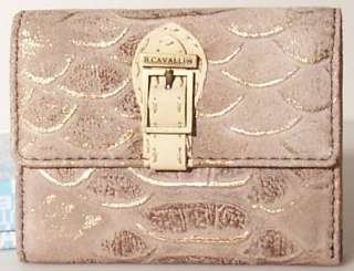 Portafoglio Donna Marrone Pelle Wallet B. Cavalli 697