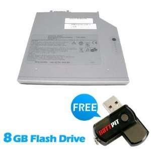 Bay Battery) (4400mAh / 49Wh) with FREE 8GB Battpit™ USB Flash Drive
