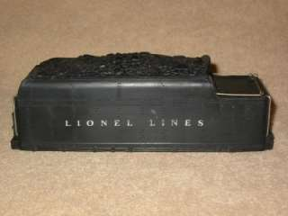 Lionel Lines 671W Whistling Tender Shell, Nice
