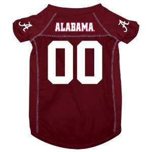Alabama University Crimson Tide Pet Dog Football Jersey