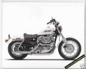 2001 HARLEY DAVIDSON XLH SPORTSTER 883 HUGGER 8x10 SPEC