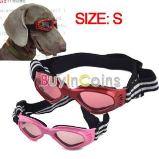 Cute Pet Puppy Dog Sunglasses Goggles UV Eyes Protection Eyewear Small