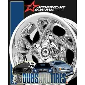 AMERICAN RACING PERFORM wheels NITRO Chrome wheels rims Automotive