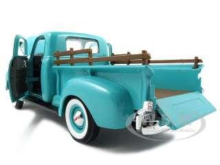 1950 GMC PICK UP TRUCK GREEN 118 DIECAST MODEL CAR