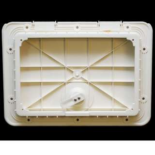 TH MARINE OFF WHITE 12 1/2 X 8 1/2 BOAT DECK HATCH
