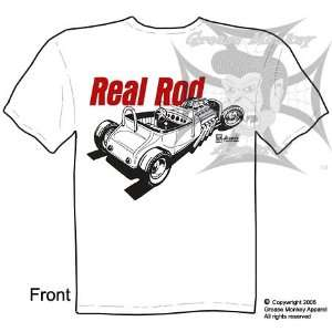 Roadster, Hot Rod T Shirt, New, Ships within 24 hours