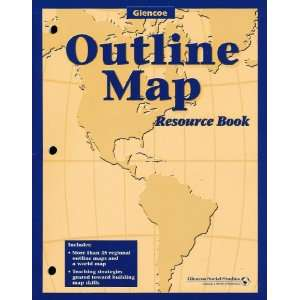 World Atlas/Outline Map Resource Book [3 Book Set]: Richard Boehm
