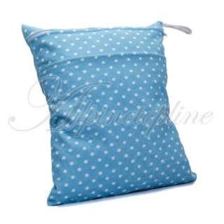 Wet Dry Bag Washable Reusable Swim Cloth Diaper 37x29cm