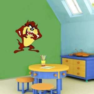 Taz Tasmanian Devil Cartoon Wall Decor sticker 25X20