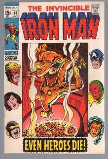 IRON MAN #18 FINE AVENGERS 1969