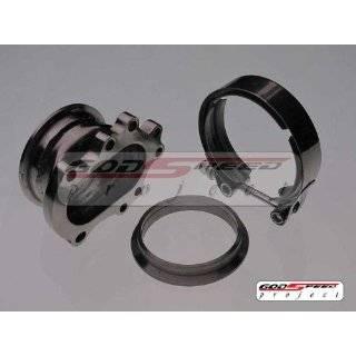 Godspeed T25 T28 Garrett Turbo Downpipe to 3 V Band Adaptor Kit