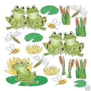 IDEASTIX OF FROGS ★ HOME ACCENTS WASHABLE ART STICKER