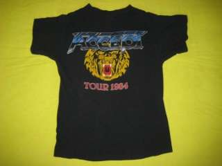 1984 ACCEPT BALLS TO THE WALL VTG CONCERT T SHIRT TOUR