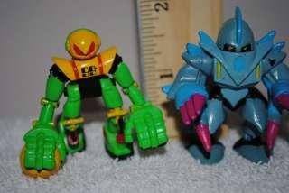 Micro Machines Z Bots figure series 2 lot 1993 Bladeroller Blayde