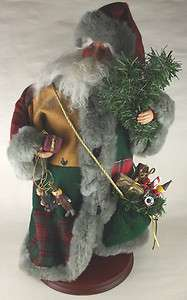 Animated Santa Claus 18 Figure Wish You Merry Christmas Decoration